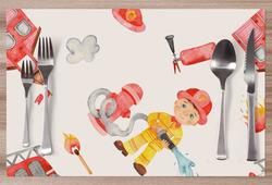 Prostírání Baby hasič