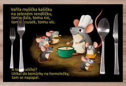 Prostírání Vařila myšička