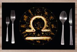 Prostírání Symbol znamení Váhy (23.9. - 22.10.)