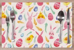 Prostírání Velikonoce – watercolor