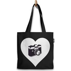 Taška s fotkou ve tvaru srdce (37x41cm)