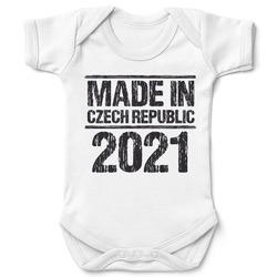Dětské body Made In + rok