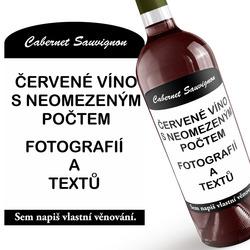 Červené víno z vašich fotografií ∞