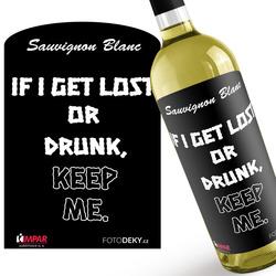 Víno Lost or drunk