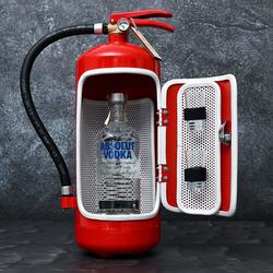 Dárkový hasičák Absolut vodka