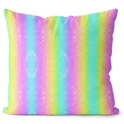 Polštář Rainbow stripes