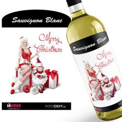 Víno Merry Christmas – Sexy Lady