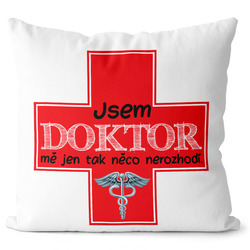 Polštářek Jsem doktor