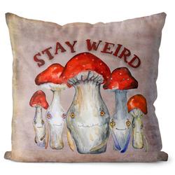 Polštářek Stay weird