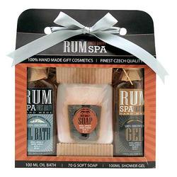 Kosmetická sada s vůní rumu – 3 kusy