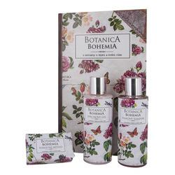 Luxusní dárková kazeta Botanica šípky & růže - 3 kusy