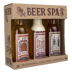 Exkluzivní pivní sada Beer Spa - 3 kusy