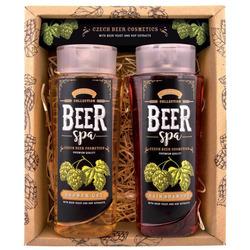 Beer Spa pivní koupelová souprava – 2 kusy