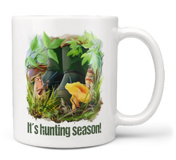 Hrnek Hunting season – houbaři