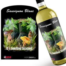 Víno Hunting season – houbaři