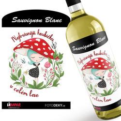 Víno Nejkrásnější houbička
