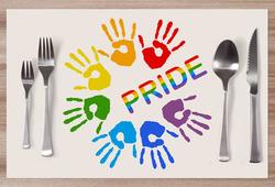 Prostírání LGBT Pride