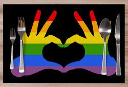 Prostírání LGBT Hands