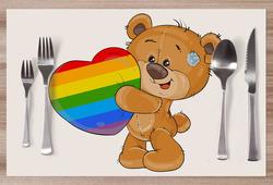 Prostírání LGBT Bear