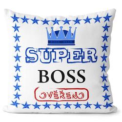 Polštář Super boss