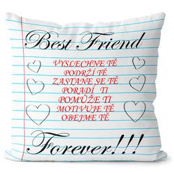 Polštář Best friend vlastnosti