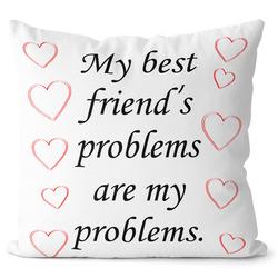 Polštář Friends problems