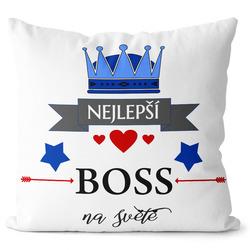 Polštář Nejlepší boss