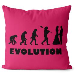 Polštářek Evolution Svatba