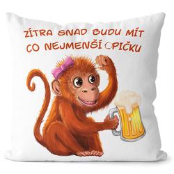 Polštář Co nejmenší opičku