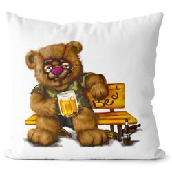 Polštář Medvěd alkoholik