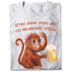 Tričko Co nejmenší opičku