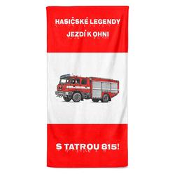 Osuška Hasičské legendy – Tatra 815