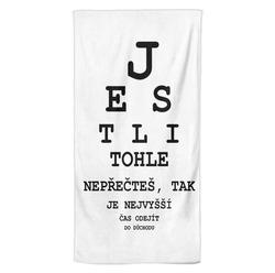 Osuška Tabule – oční