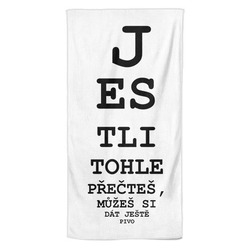 Osuška Tabule – oční – pivo