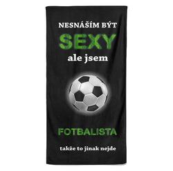 Osuška Sexy fotbalista