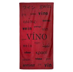 Osuška Víno – jazyky