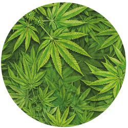 Kulatá osuška Cannabis