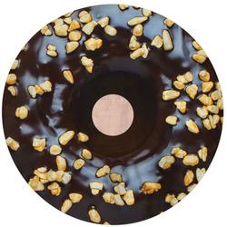 Kulatá osuška Donut s čokoládou