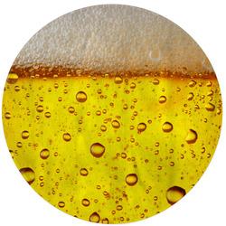 Kulatá osuška Pivo