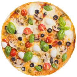 Kulatá osuška Pizza