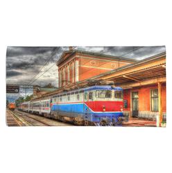 Osuška Vlak ve stanici