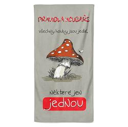Osuška Pravidla houbaře