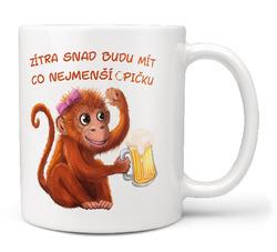 Hrnek Co nejmenší opičku