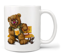 Hrnek Medvěd alkoholik