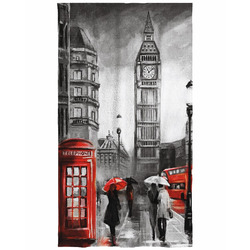 Osuška Londýn art 70x140