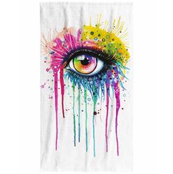 Osuška Oko art 70x140