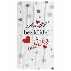 Osuška Anděl bez křídel je babička