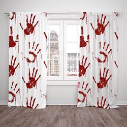 Závěsy Bloody hand