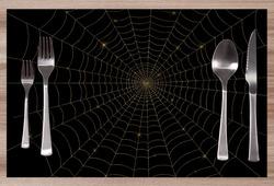 Prostírání Spiderweb Gold