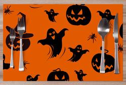 Prostírání Halloweenský vzor 2